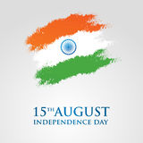 India Independence Day greeting card vector illustration. 15th august independence day. India Independence Day greeting card vector illustration. 15th august Royalty Free Stock Photo