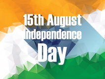 India independence day poster with keep calm text Stock Photos