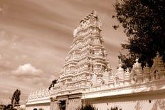 india inom det mysore slotttempelet Arkivbilder