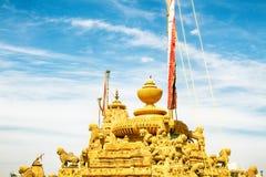 India. Jain acient temple. Jaisalmer, India. Jain acient temple. Jainism is a humane religion that forbids harm to any creature. Ahimsa - nonviolence. Poles with royalty free stock photos