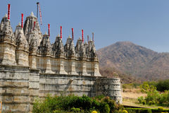 India, Jain temple in Ranagpur Stock Image