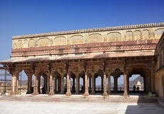India  Jaipur. Amber fort, Stock Images