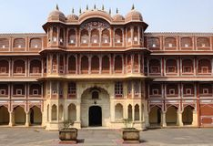 India Jaipur city palace stock images