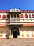 India. Jaipur. City Palace- Palace of the maharaja Stock Photo