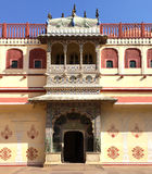 India. Jaipur. City Palace- Palace of the maharaja. Royalty Free Stock Image