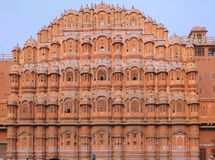India Jaipur Hawa Mahal the palace of winds royalty free stock photos
