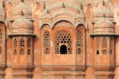 India Jaipur Hawa Mahal the palace of winds Royalty Free Stock Photos