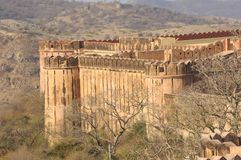 India, Jaipur: Jaigarh Fort Stock Photography
