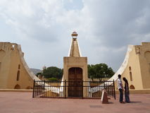 India. Jaipur. Jantar Mantar. Stock Photos