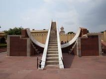 india jaipur Jantar Mantar Arkivbild