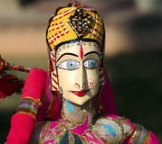 India Jaipur Marionette Stock Photos
