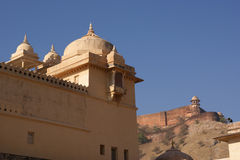 India, Jaipur (Palace of the Maharaja) Royalty Free Stock Images