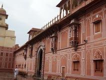India. Jaipur. Palace of the Maharaja Stock Photos