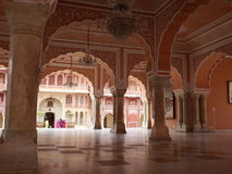 India. Jaipur. Palace of the Maharaja Royalty Free Stock Photo