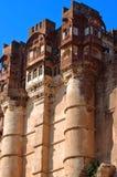 India, Jodhpur:  the mehrangarh fort Stock Photo