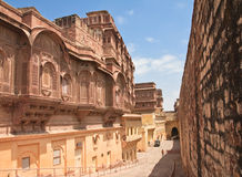 India, Jodhpur, Mehrangarh fort Stock Photography