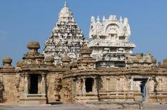India - Kailasanathar Temple stock photography
