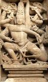 India, Kanchipuram: Templo de Kailashanatha Foto de Stock