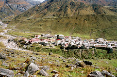 India, Kedarnath. Royalty Free Stock Photography