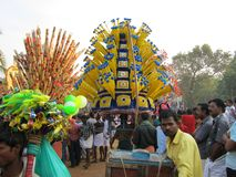 India Kerala festival Royalty Free Stock Photos