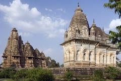 india khajuraho Madhya Pradesh Royaltyfria Bilder