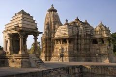 india khajuraho Madhya Pradesh Arkivfoto