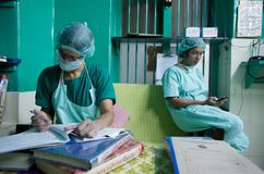 india kirurgkvinnor arkivfoton