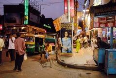 india kolkata Arkivbild