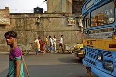 india kolkata Arkivbilder