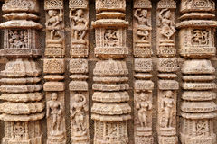 India, Konarak temple Stock Image