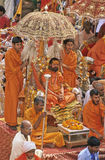 India Kumbh Mela royalty free stock image