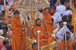 India Kumbh Mela Stock Photo