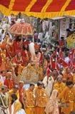 India Kumbh Mela Royalty-vrije Stock Afbeeldingen