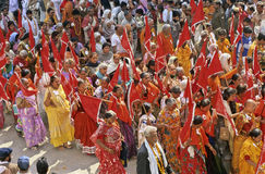 India Kumbh Mela Stock Photo
