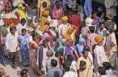 india kumbhmela Arkivbilder