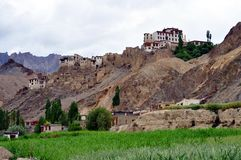 India - Ladakh landscape in a cloudy day Royalty Free Stock Photos