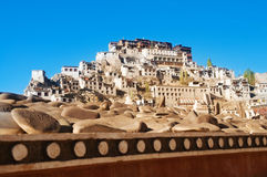 India Ladakh Leh Thikse Monastery Stock Photography