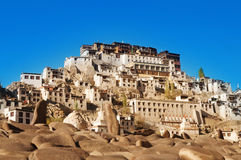India Ladakh Leh Thiksey Monastery Royalty Free Stock Photos