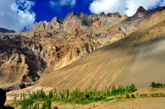 India - Ladakh (little Tibet) landscape Royalty Free Stock Photo