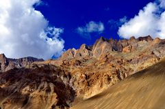 India - Ladakh (little Tibet) landscape Royalty Free Stock Photography