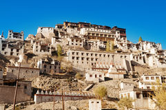India Ladakh Thikse Monastery Royalty Free Stock Photos