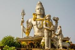 India landscapes. Gokarna, Murudeshwara. Royalty Free Stock Image