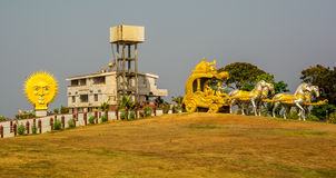 India landscapes. Gokarna, Murudeshwara. Stock Photos