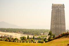 India landscapes. Gokarna, Murudeshwara. Royalty Free Stock Images
