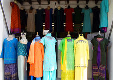 india little shoppar royaltyfria bilder