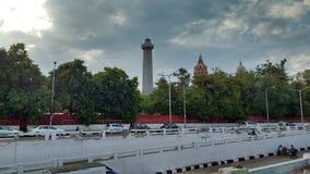 India& x27; ljust hus för s första i Chennai Royaltyfri Fotografi