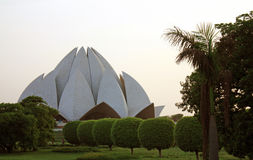 India Lotus Temple Stock Photos