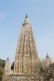 India, Mahabodhy Temple. Mahabodhy Buddhist temple in Bodhgaya, Bihar, India Royalty Free Stock Photo