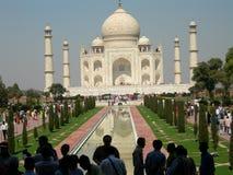 india mahal taj Arkivbilder