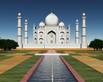 india mahal taj royaltyfri illustrationer